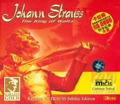 Johann Strauss The King Of Waltz Vol. 1 - Herbert von Karajan