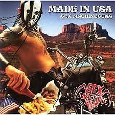 Made In USA - Sex Machineguns
