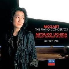 Album Mozart - Piano Concertos CD 1 - Jeffrey Tate ft. Mitsuko Uchida ft. English Chamber Orchestra