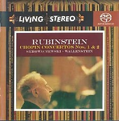 Living Stereo 60CD Collection - CD 31 -Rubinstein Chopin Concertos Nos. 1 & 2 - Artur Rubinstein