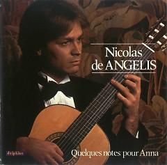 Album Quelques Notes Pour Anna - Nicolas de Angelis