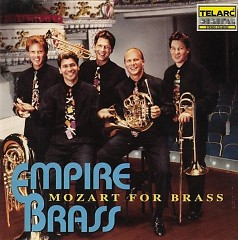 Album Mozart For Brass - Empire Brass
