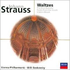 Johann Strauss - Waltzes - Willi Boskovsky
