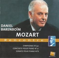 Album Mozart Rencontre - Daniel Barenboim
