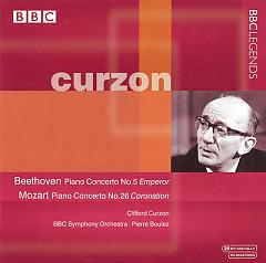 Album Beethoven, Mozart - Piano Concertos - Pierre Boulez ft. Clifford Curzon
