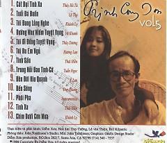 Tình Khúc Trịnh Công Sơn Vol 5 - Various Artists