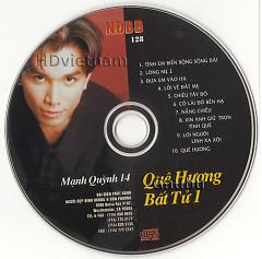 Album Quê Hương Bất Tử 1 - Mạnh Quỳnh