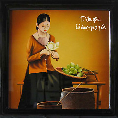 Album Dấu Yêu Không Quay Về - Hoàng Lê Vi