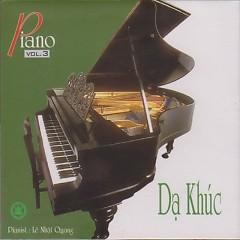 Album Dạ Khúc - CD1 - Lê Nhật Quang