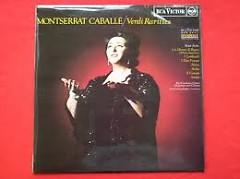 Verdi Rarities - Montserrat Caballe