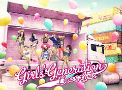 Album LOVE&GIRLS  [Japanese] - SNSD