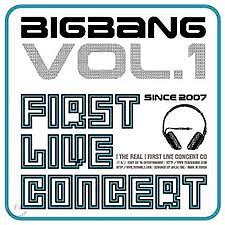 1st Live Concert Album - BIGBANG