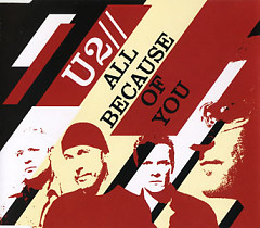 All Because of You (CD Single UK Version 2) - U2