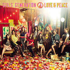 LOVE &PEACE (Japanese) - SNSD