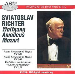 Album Mozart - Sviatoslav Richter