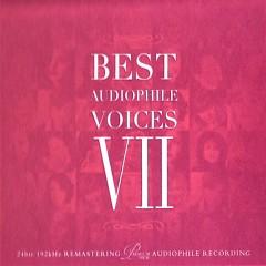 Album Best Audiophile Voices Vol.7 - Various Artists