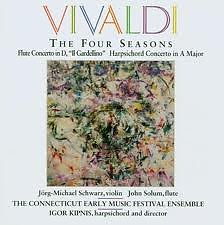 Vivaldi: The Four Seasons;Flute Concerto;Harpsichord Concerto No.1 - Various Artists