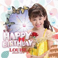 Happy Birthday - Bé Louise