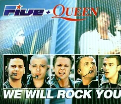 We Will Rock You (Single) - Five ft. Queen