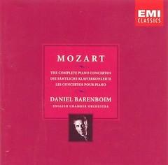 Album Mozart - Piano Concertos No. 21, 22, 23, 27 CD 1 - Daniel Barenboim
