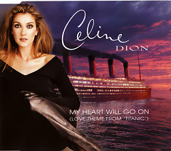 My Heart Will Go On (German CD-MAXI) - Celine Dion