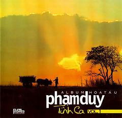 Album Hòa Tấu Phạm Duy Tình Ca - Vol.1 - Duy Cường