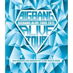 Album 2012 BIGBANG Live Concert [Alive Tour In Seoul] - BIGBANG