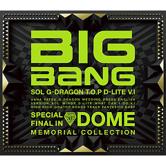 Album Special Final In Dome Memorial Collection - BIGBANG