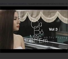 Album Cứ Bỏ Mặc Em - Hồ Thu Phương