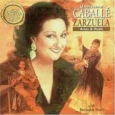 Zarzuela Love Duets - Montserrat Caballe