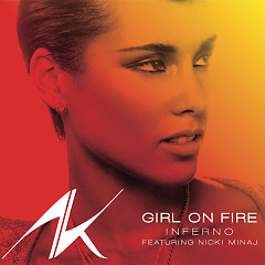 Girl On Fire (Promo CD) - Alicia Keys ft. Nicki Minaj