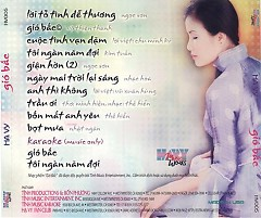 Album Gió Bấc - Hạ Vy