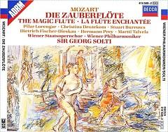 Album Mozart - Die Zauberflote - Sir Georg Solti