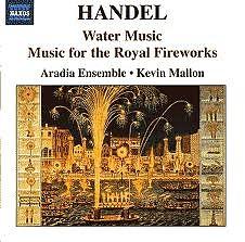 Haendel Water Music & Fireworks Music CD 1 - Jordi Savall