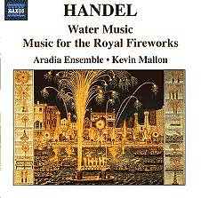 Haendel Water Music & Fireworks Music CD 2 - Jordi Savall