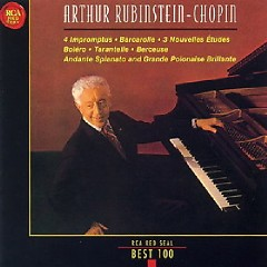 RCA Best 100 CD 36 - Chopin 4 Impromptus, Barcarolle, Berceuse, Andante Spianato And Grande Polonais - Artur Rubinstein