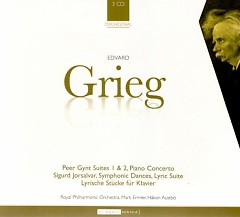 Peer Gynt Suites, Piano Concerto & Lyrics Pieces CD 3 No. 1 - Hakon Austbo ft. Royal Philharmonic Orchestra ft. London Symphony Orchestra