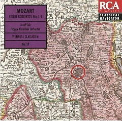 Album Mozart Violin Concertos CD 1 - Josef Suk
