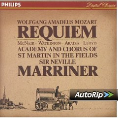 Album Mozart - Requiem - Sir Neville Marriner ft. Academy Of St Martin InThe Fields