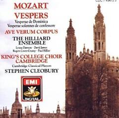Album Mozart - Vespers - Stephen Cleobury