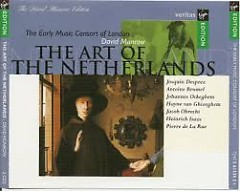 The Art Of The Netherlands CD 1(No. 2) - David Munrow