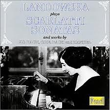 Landowska Plays Scarlatti Sonatas CD 2 (No. 2) - Wanda Landowska