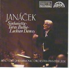 Album Janacek - Sinfonietta, Taras Bulba, The Lachian Dances - František Jílek ft. Brno Philharmonic Orchestra