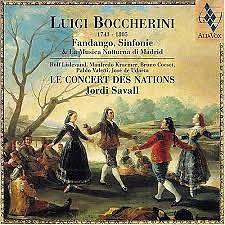 Boccherini - Fandango Sinfonie Musica Notturna Di Madrid - Jordi Savall,Le Concert des Nations
