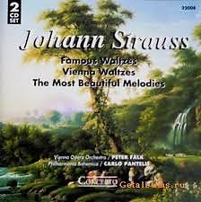 Johann Strauss - Vienna Waltzes, The Most Beautiful Melodies CD 2 - Various Artists