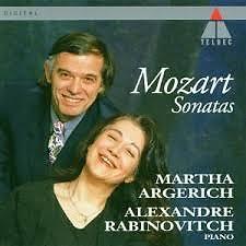 Album Mozart - Sonatas - Martha Argerich ft. Alexandre Rabinovitch