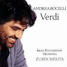 Verdi - Zubin Mehta ft. Andrea Bocelli ft. Israel Philharmonic Orhcestra