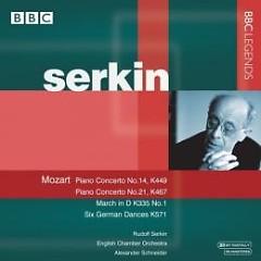 Album Mozart - Piano Concertos 14 & 21 - Rudolf Serkin