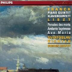 Franck - Piano Quintet In F Minor; Liszt - Harmonies Poetiques Et Religieuses, Ave Maria - Sviatoslav Richter,Borodin Quartet