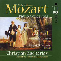 Album Mozart - Piano Concertos Vol. 1 - Christian Zacharias ft. Lausanne Chamber Orchestra